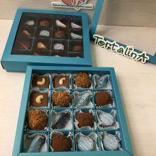 Шоколадные конфеты ручной работы