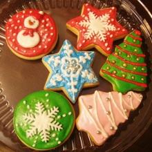 Новогоднее печенье №2