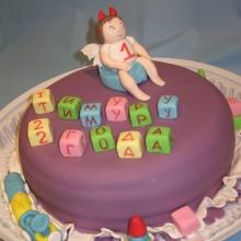 Торт Мальчику на 2 года