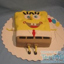 Торт Губка Боб. №3