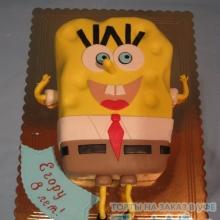 Торт Губка Боб. №4