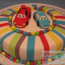 Торт Тачки №3