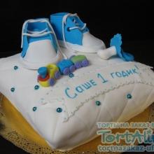 Торт Подушечка. №8