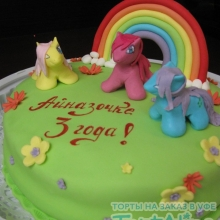 Торт Мой пони. №2