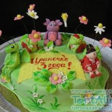 Торт Лунтик и друзья. №6