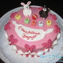 Торт девочке на 2 года