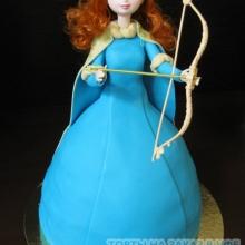 Торт Кукла №3. АВТОРСКИЙ