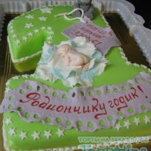 Торт с младенцем