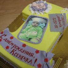 Торт единичка с фото