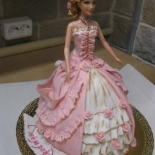 Торт-кукла. АВТОРСКИЙ