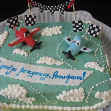 Торт Самолетики