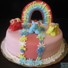 Торт с пони №2