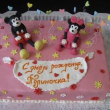 Торт с Микки-Маусом