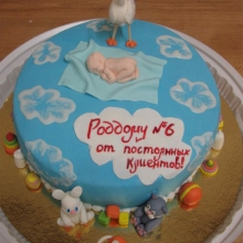 Торт в роддом