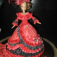 Торт-кукла №2. АВТОРСКИЙ