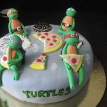 Торт Черепашки №2