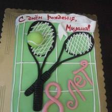 Торт теннисисту