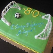 Торт футболисту №2