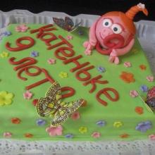 Торт со смешариками