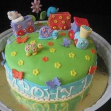 Торт с паравозиком