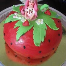 Торт-Ягодка