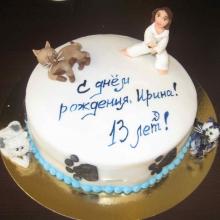 Тортик Каратистке