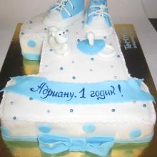 Торт Единичка для мальчика