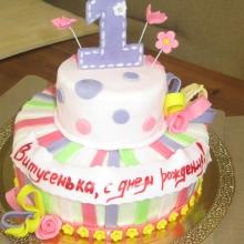 Торт на годик двухърусный