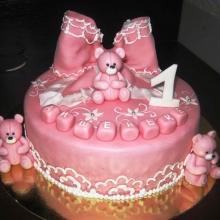 Торт с Мишками, для девочки
