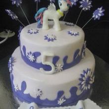 Торт Фиолетовый пони