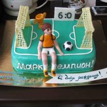 Торт Юному футболисту