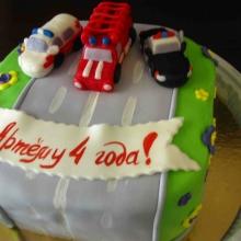 Торт Машинки №2