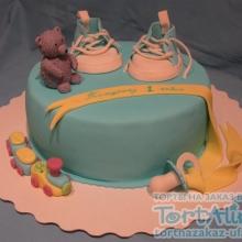 Торт На годик. №2