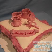 Торт Подушечка. №1