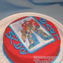 Торт с трансформером