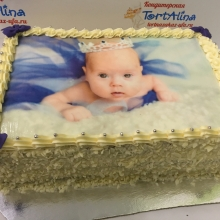Торт Маленькая принцесса. Фототорт.