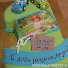 Торт детский с фото