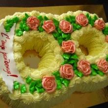 Кремовый торт №43