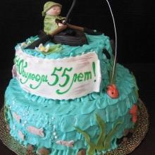 Торт для рыбака