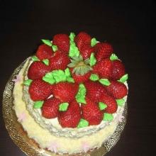 Кремовый торт №10