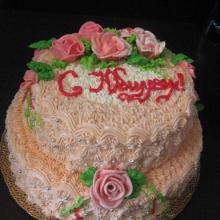 Кремовый торт №9