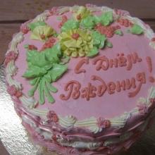 Кремовый торт №7