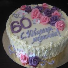 Кремовый торт №8