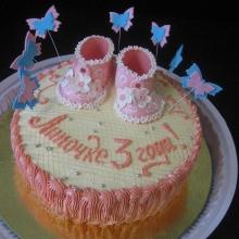 Кремовый торт №12