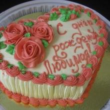 Кремовый торт №16