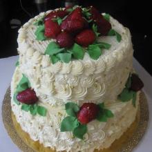 Кремовый торт №18