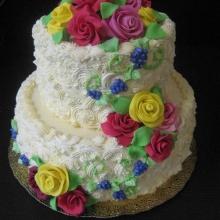 Кремовый торт №19