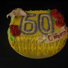 Кремовый торт №22