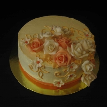 Кремовый торт №23