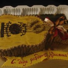 Кремовый торт №24